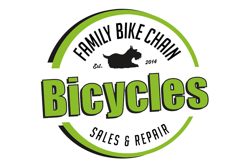 Family Bike Chain Logo