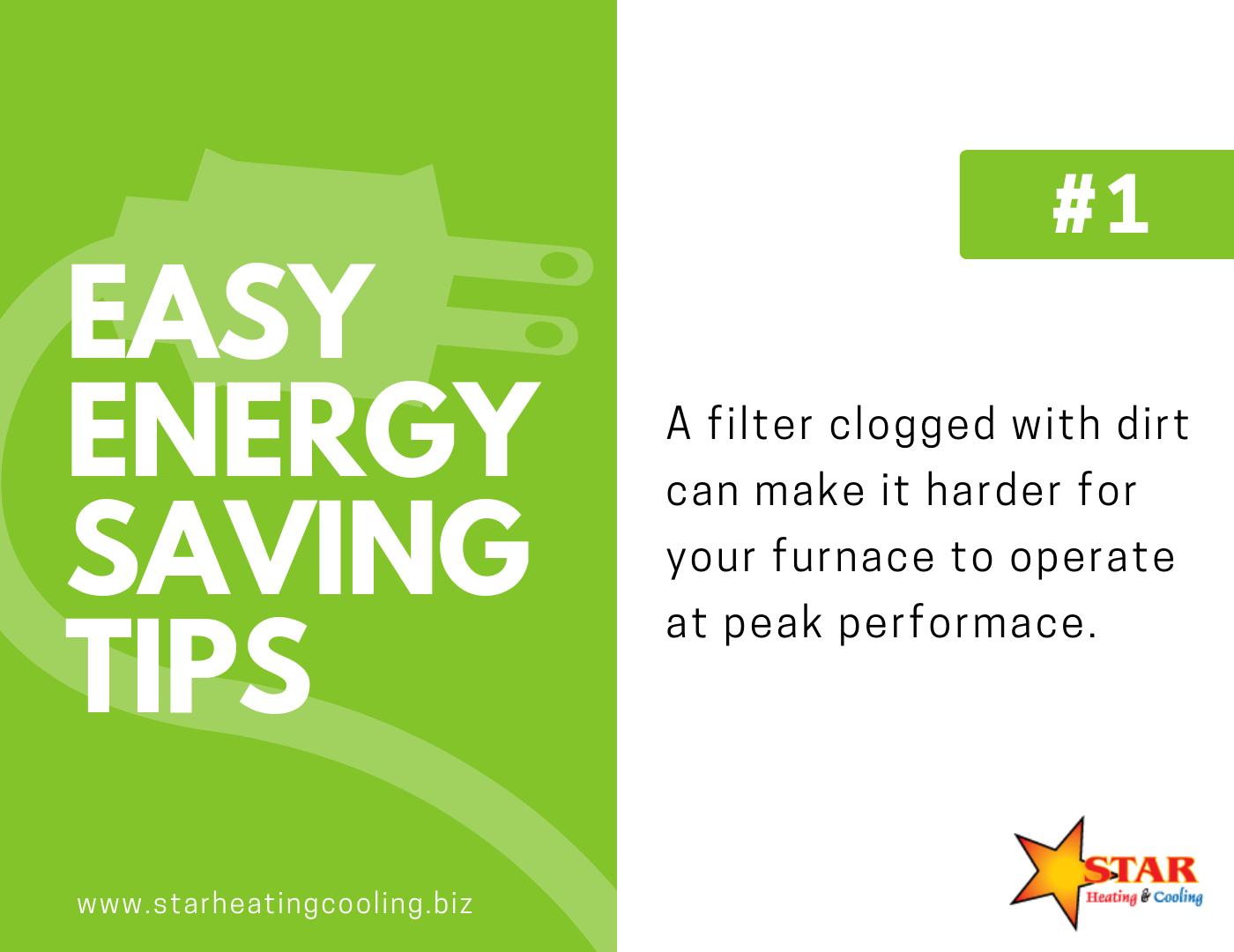 Energy Saving Graphic