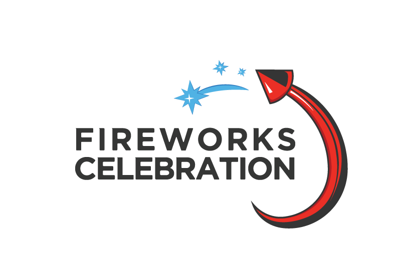 Riley Festival Fireworks Celebration Logo